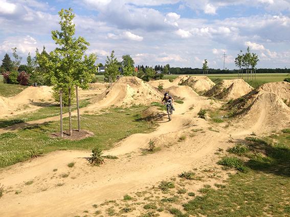 Dirt-Bike-Piste Allach bei München