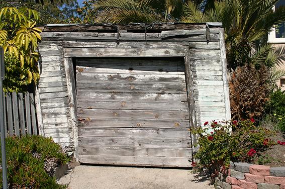 Garageneinfahrt, Laguna Beach, Kalifornien, USA
