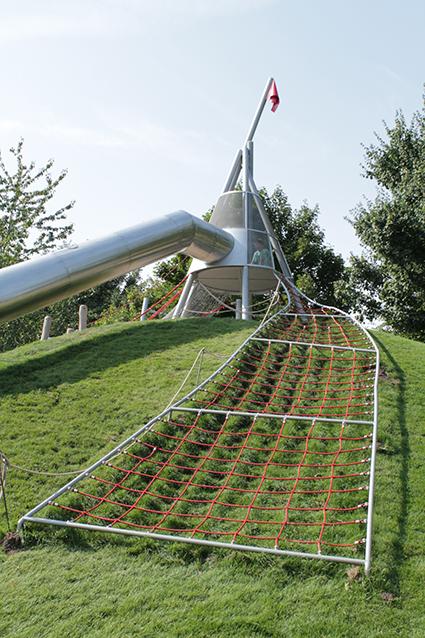 Spielplatz auf der Internationalen Gartenschau Hamburg 2013