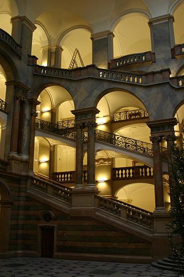 Treppenhaus Justizpalast München
